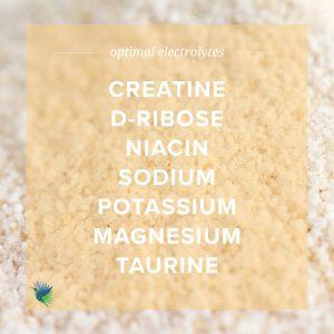 Optimal Electrolyte Ingredients